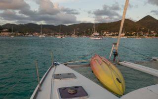 vor San Martin / Karibik