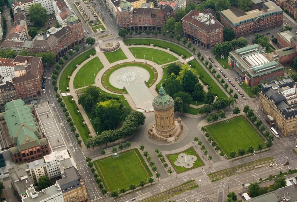 Mannheim-Luftaufnahme